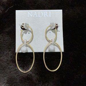 NWT Nadri earrings!